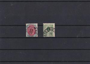 Danish West Indies USED Stamps With Thins Ref 31390