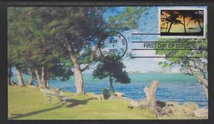 Scott C 143 Hagatna Bay Guam FDC CompuChet Cachet No.10 of15