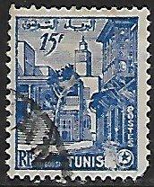 Tunisia # 252 - Sidi-Bau-Said - used.....{Gn12}