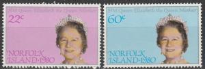 Norfolk Island #271-2  MNH  MNH (K240)