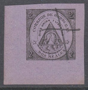 HONDURAS  An old forgery of a classic stamp.................................C935