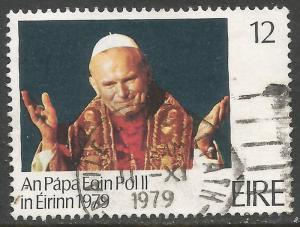 IRELAND 456 VFU POPE N670-5