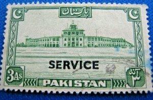 PAKISTAN 1948  -  SCOTT # O20  -  USED                (Hp5)