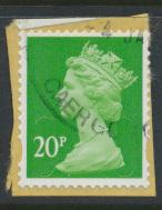 GB Security Machin 20p SG U2924 SC# MH 406 Used Souce / Date Code 16 see details