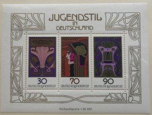 Germany 1243 MNH Souvenir Sheet