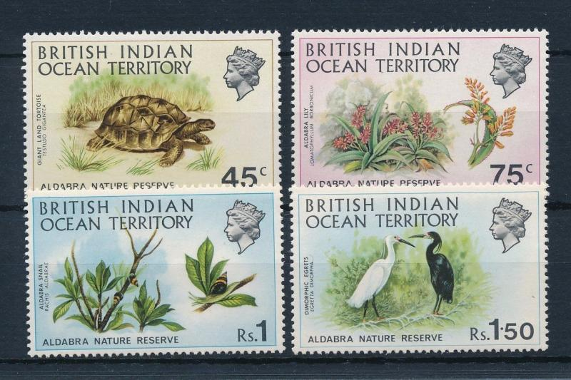 [29994] British Indian Ocean Territory 1971 Birds Vögel Oiseaux Turtle MLH
