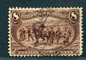 UNITED STATES 289 USED F-VF CLEAN CANCEL