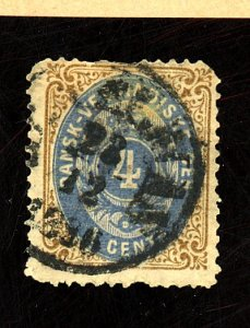 Danish W Indies #76 Used Fine Faults Cat$225