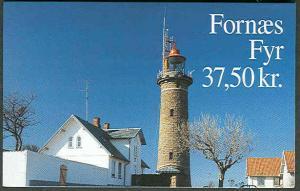 DENMARK HS83 (1055) Lighthouse Booklet, VF