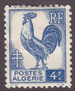 Algeria 184 Gallic Cock 1945