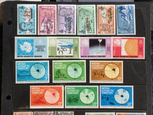 1980-2 British Antarctic Territory Three Complete sets Sc# 76-91 MNH
