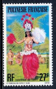 French Polynesia - Scott #C148 - MLH - SCV $4.00