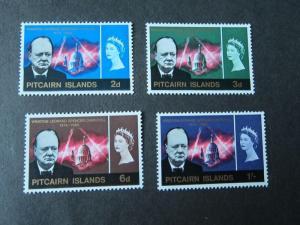 Pitcairn Islands 1966 Sc 56-59 set MH