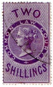 (I.B) QV Revenue : Common Law Courts 2/-