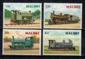 Malawi Scott 498-501 Mint NH (Catalog Value $21.75)