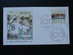 centenary of football playing in Germany FDC 2008 Germany 84359