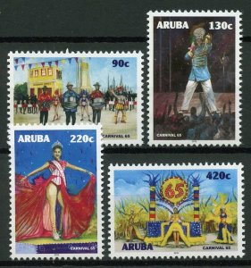 Aruba 2019 MNH Carnival 65 Years 4v Set Festivals Cultures Traditions Stamps