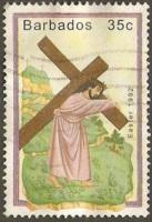 Barbados Used Sc 818 - Easter 1992