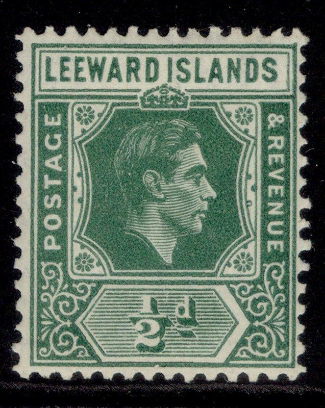 LEEWARD ISLANDS GVI SG96, ½d emerald, M MINT.