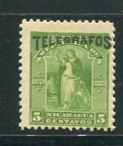 Nicaragua Telegraph Hiscock #43