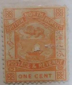 North Borneo Scott #17*nh