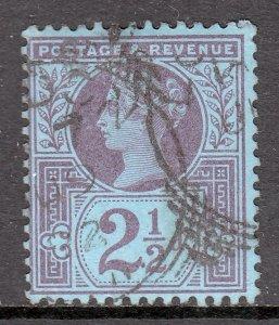 Great Britain - Scott #114 - Used - SCV $2.50 (Ref. 2/3)