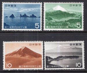 Japan 741-744 MNH VF