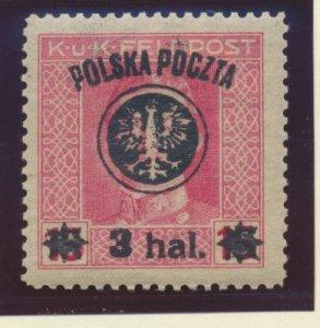 Poland Stamp Scott #31, Mint Hinged - Free U.S. Shipping, Free Worldwide Ship...