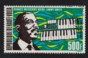 Upper Volta Famous Musician Jimmy Smith 1972 CTO SG#367 SC#C407 CV£5.75