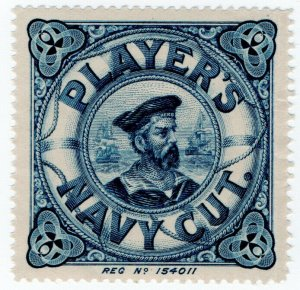 (I.B) Cinderella Collection : Player's Navy Cut Cigarettes