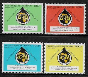 Benin #1036-9 MNH Set - African Petroleum Producers