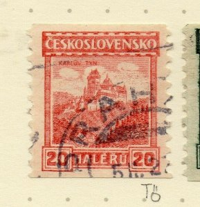 Czechoslovakia 1926-27 Issue Fine Used 20h. NW-148591