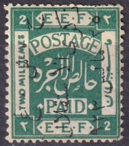 Jordan #74 F-VF Unused CV $42.50 (Z3664)