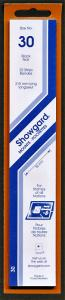 Showgard Stamp Mounts Size 30 / 215 BLACK Background Pack of 22