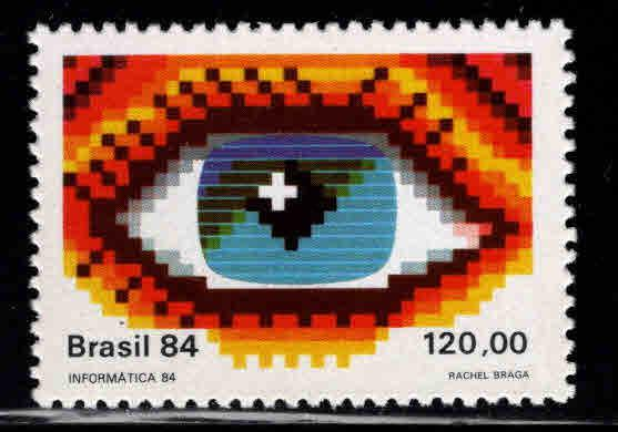 Brazil Scott  1960 MNH** 1984 Eye stamp