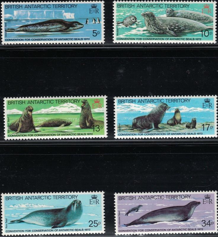 British Antarctica SC96-101 Seals-10thAnniv.ConventionForConservationOfSeals'83