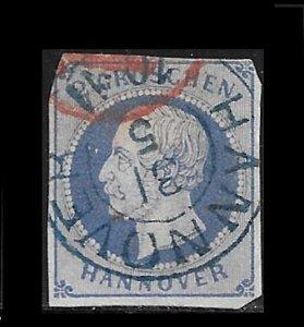 Germany - Hanover 20 used SCV $10.90  -  reprint?  - 5243