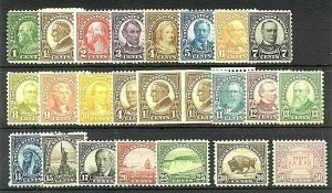 [S13]   US #632//701 Mint-NH OG [Two Sets Plus Extras]...ALWAYS FREE SHIPPING!!!