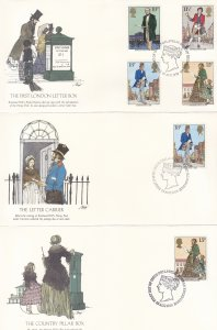 1979, Great Britain: Postal Mailing, Grp 5, FDC (S18789)