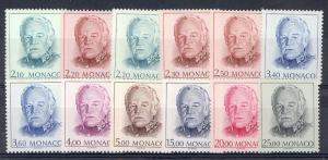 Monaco Scott 1661 // 1674 (missing 1667,1670) - Catalog Value $42.50