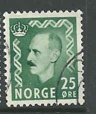 Norway - 345 - Used - SCV-0.25