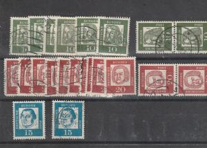 #827-29 Germany Used lot