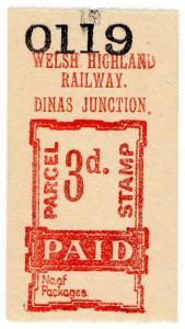 (I.B) Welsh Highland Railway : Parcel 3d (Dinas Junction)