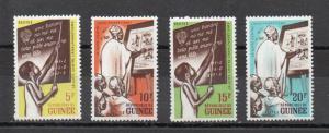Guinea 254-257 MNH