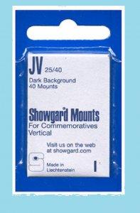 Mounts Showgard, 25/40mm (40ea. Black) (00507B)