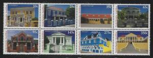 Netherlands Antilles 2004 Houses & Mansions block/8 Sc# 1029 NH