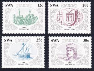 SWA Discoveries 2nd issue 4v SG#455-458 SC#552-555