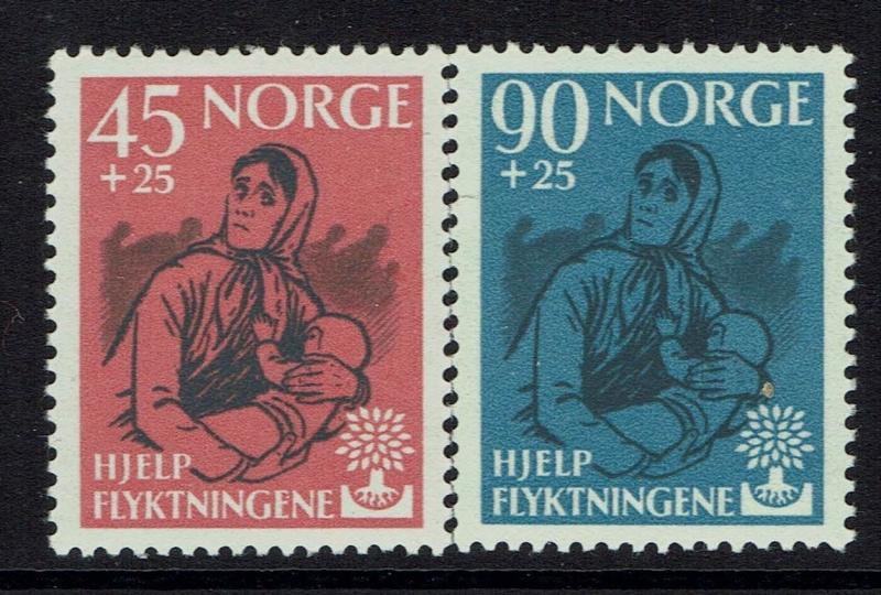 Norway SC# B64 - B65 - Mint Hinged (Small Hinge Rem / Light Crease) - Lot 032617