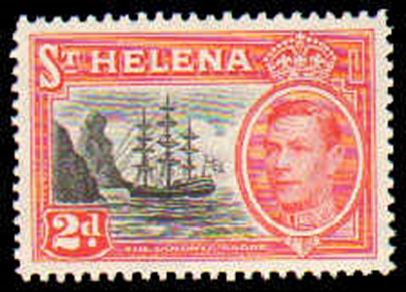 ST HELENA #136-138  MINT NEVER HINGED COMPLETE SET ( 3 )