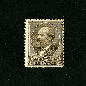 US Stamps # 205 F OG H Catalogue Value $240.00